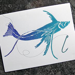 Tripod Fish Card